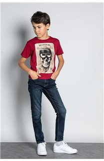 T-Shirt CLEM Garçon W20196B (56767) - DEELUXE