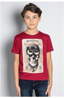 T-Shirt CLEM Garçon W20196B (56768) - DEELUXE
