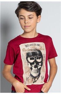 T-Shirt CLEM Garçon W20196B (56770) - DEELUXE