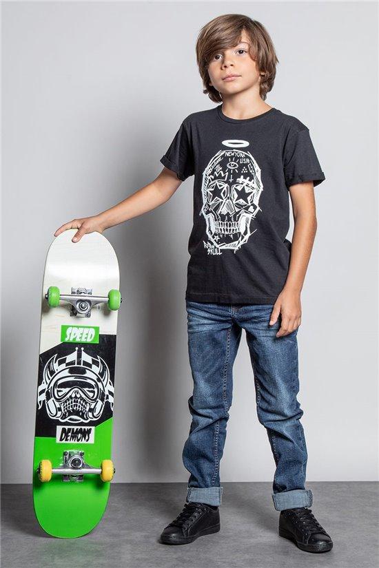 T-Shirt T-SHIRT MADNESS Garçon W20151B (56677) - DEELUXE