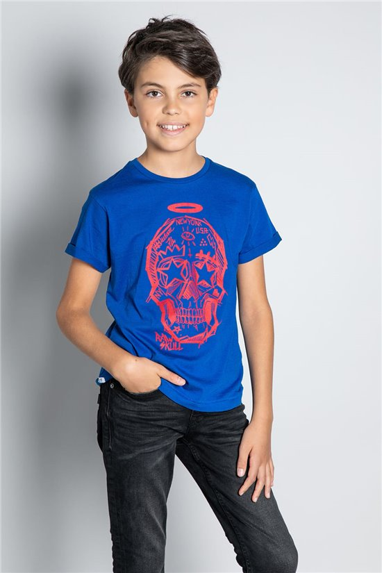 T-Shirt MADNESS Garçon W20151B (56677) - DEELUXE