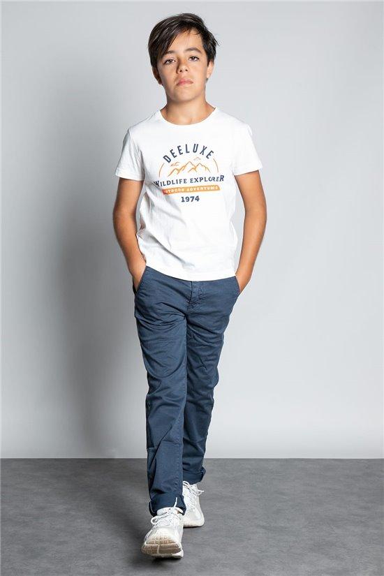 T-Shirt T-SHIRT TIGNES Garçon W20128B (56795) - DEELUXE