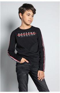 T-Shirt T-SHIRT RALFY Garçon W20148B (56800) - DEELUXE