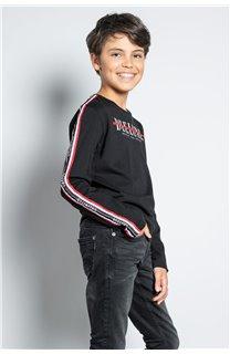 T-Shirt T-SHIRT RALFY Garçon W20148B (56801) - DEELUXE