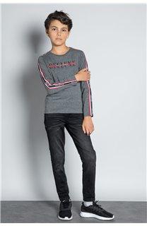 T-Shirt T-SHIRT RALFY Garçon W20148B (56806) - DEELUXE