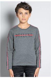 T-Shirt T-SHIRT RALFY Garçon W20148B (56807) - DEELUXE