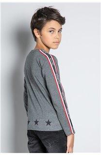 T-Shirt T-SHIRT RALFY Garçon W20148B (56808) - DEELUXE