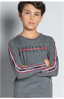 T-Shirt T-SHIRT RALFY Garçon W20148B (56809) - DEELUXE