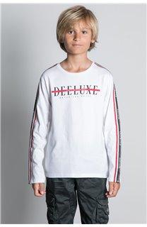 T-Shirt T-SHIRT RALFY Garçon W20148B (56810) - DEELUXE