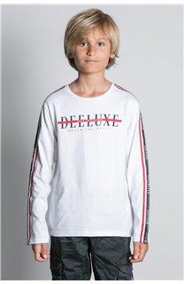 T-Shirt T-SHIRT RALFY Garçon W20148B (56812) - DEELUXE