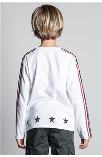 T-Shirt T-SHIRT RALFY Garçon W20148B (56813) - DEELUXE