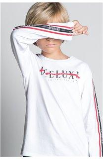 T-Shirt T-SHIRT RALFY Garçon W20148B (56814) - DEELUXE