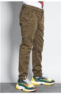 Pantalon PANTALON COTTAGE Garçon W207001B (56839) - DEELUXE