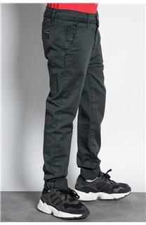 Pantalon PANTALON COTTAGE Garçon W207001B (56844) - DEELUXE