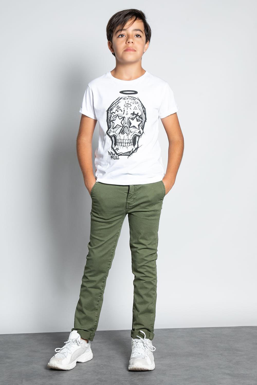 Pantalon PANTALON COTTAGE Garçon W207001B (56845) - DEELUXE