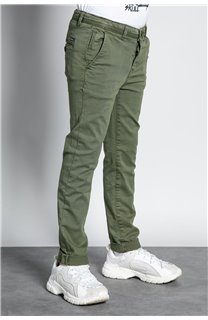 Pantalon PANTALON COTTAGE Garçon W207001B (56849) - DEELUXE