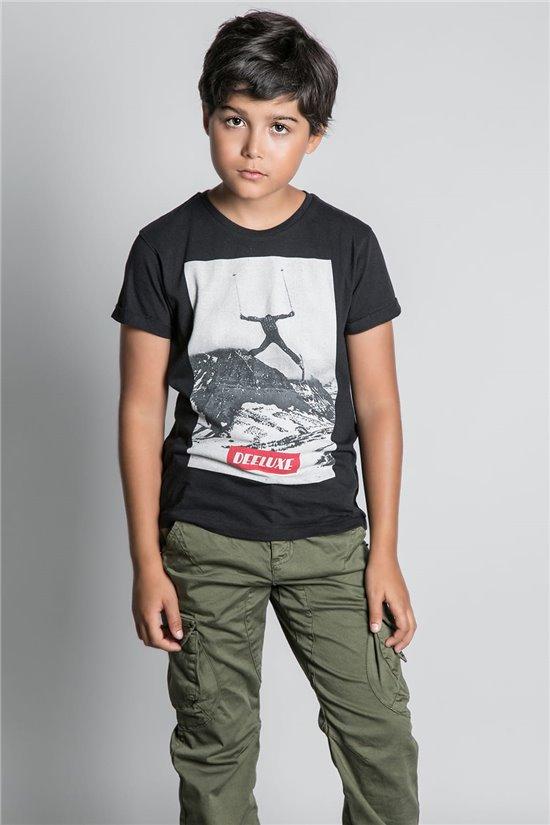 T-Shirt HELP Garçon W20114B (56870) - DEELUXE