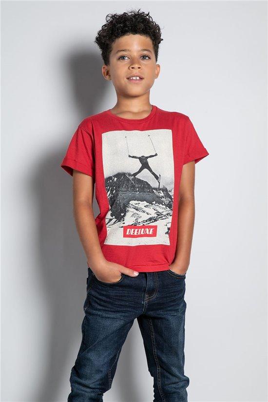 T-Shirt T-SHIRT HELP Garçon W20114B (56870) - DEELUXE
