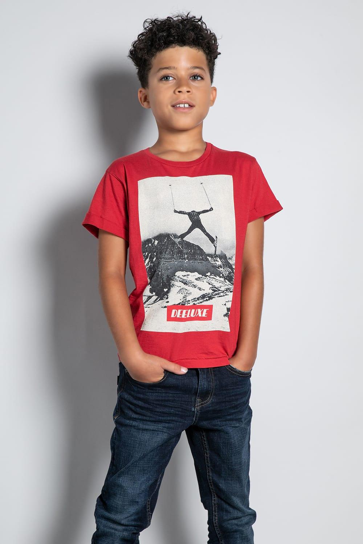 T-Shirt T-SHIRT HELP Garçon W20114B (56875) - DEELUXE