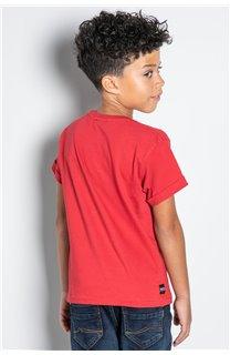 T-Shirt T-SHIRT HELP Garçon W20114B (56878) - DEELUXE