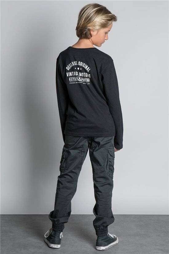 T-Shirt T-SHIRT VENICE Garçon W20177B (56920) - DEELUXE