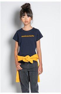 T-Shirt T-SHIRT MISS Fille W20120G (57188) - DEELUXE
