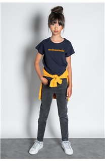T-Shirt T-SHIRT MISS Fille W20120G (57189) - DEELUXE