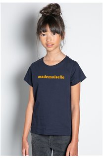 T-Shirt T-SHIRT MISS Fille W20120G (57190) - DEELUXE