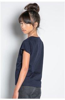 T-Shirt T-SHIRT MISS Fille W20120G (57191) - DEELUXE