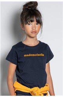 T-Shirt T-SHIRT MISS Fille W20120G (57192) - DEELUXE
