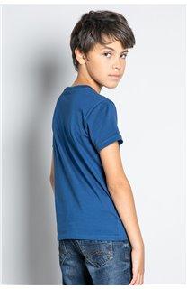 T-Shirt T-SHIRT FOREIGN Garçon W20103B (57213) - DEELUXE