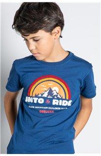 T-Shirt T-SHIRT FOREIGN Garçon W20103B (57214) - DEELUXE