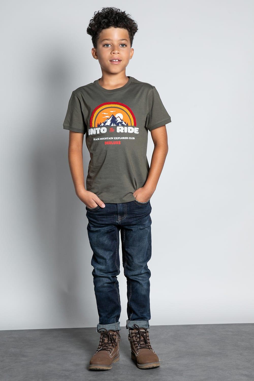 T-Shirt T-SHIRT FOREIGN Garçon W20103B (57215) - DEELUXE