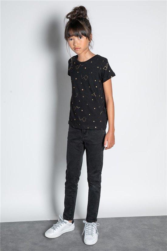 T-Shirt T-SHIRT ESTRELLA Fille W20124G (57328) - DEELUXE