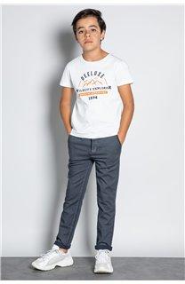 Pantalon PANTALON ALMA Garçon W207013B (57352) - DEELUXE