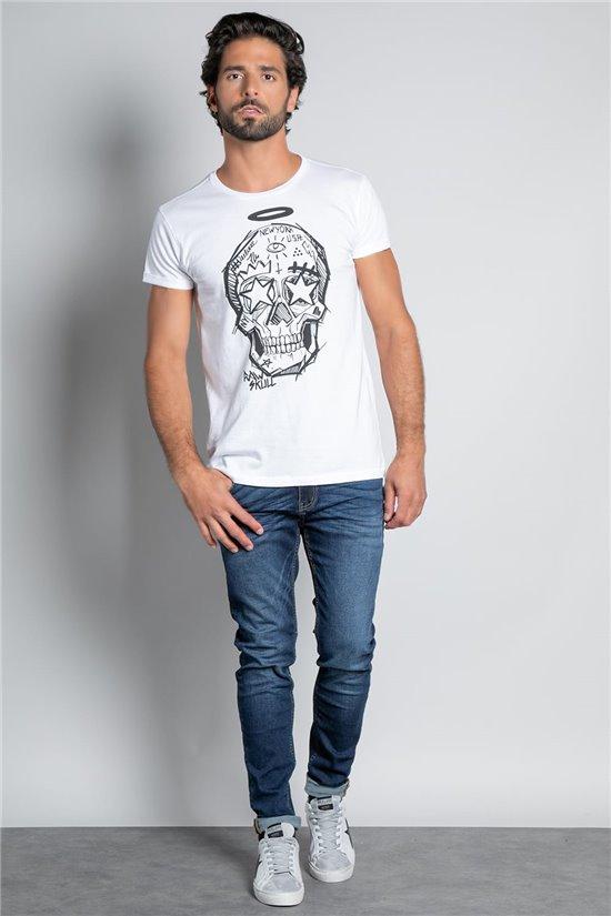 T-Shirt T-SHIRT MADNESS Homme W20151M (57386) - DEELUXE