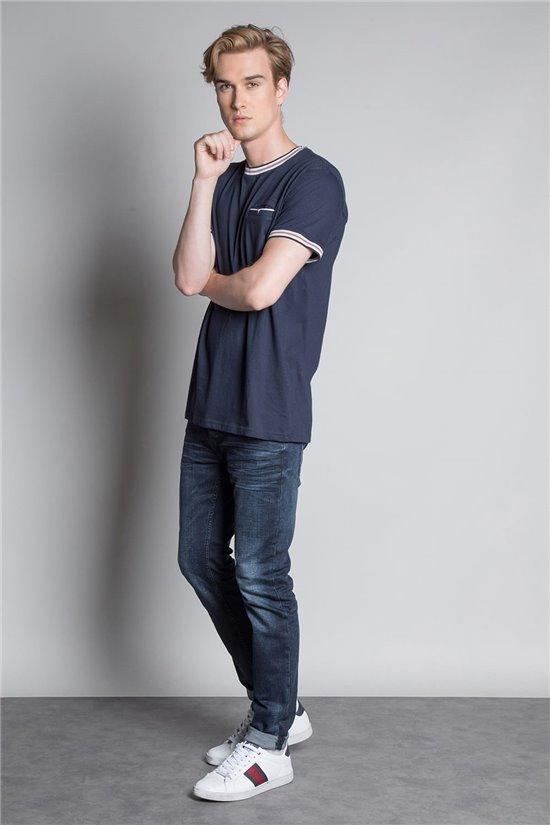 T-Shirt T-SHIRT PAPURU Homme W20166M (57399) - DEELUXE