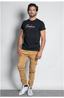 Pantalon PANTALON GARDEN Homme W207017M (57749) - DEELUXE