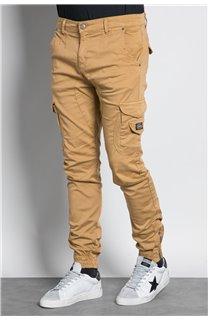 Pantalon PANTALON GARDEN Homme W207017M (57753) - DEELUXE