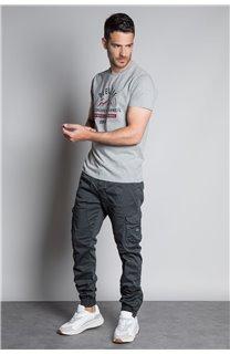 Pantalon PANTALON GARDEN Homme W207017M (57754) - DEELUXE