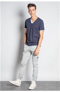 Pantalon PANTALON GARDEN Homme W207017M (57759) - DEELUXE