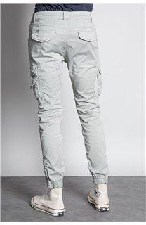 Pantalon PANTALON GARDEN Homme W207017M (57761) - DEELUXE