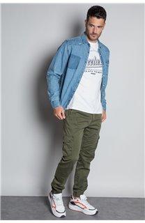 Pantalon PANTALON GARDEN Homme W207017M (57763) - DEELUXE
