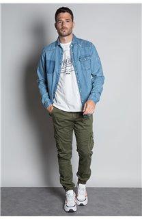 Pantalon PANTALON GARDEN Homme W207017M (57764) - DEELUXE