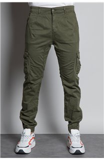 Pantalon PANTALON GARDEN Homme W207017M (57765) - DEELUXE