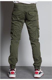 Pantalon PANTALON GARDEN Homme W207017M (57766) - DEELUXE