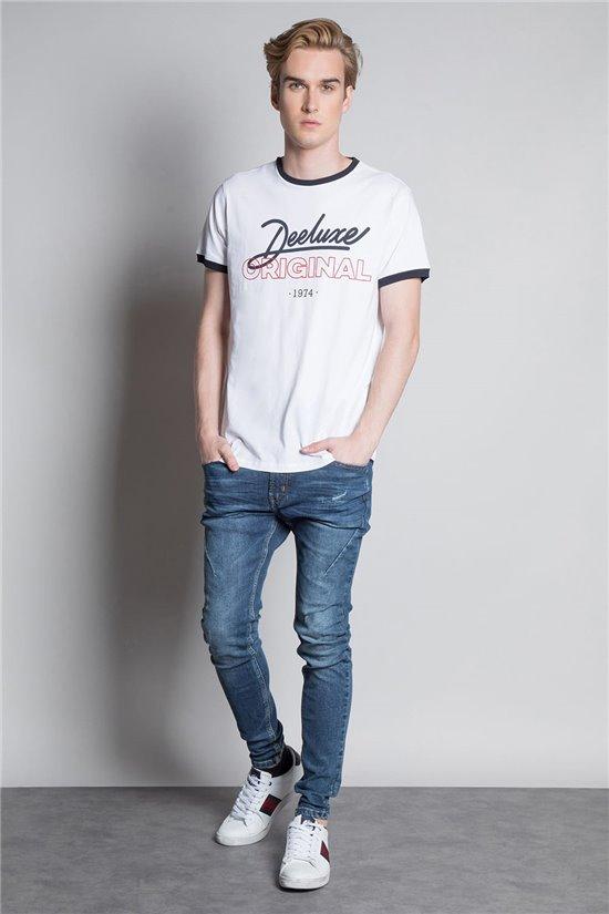 T-Shirt T-SHIRT HYLTON Homme W20180M (57803) - DEELUXE