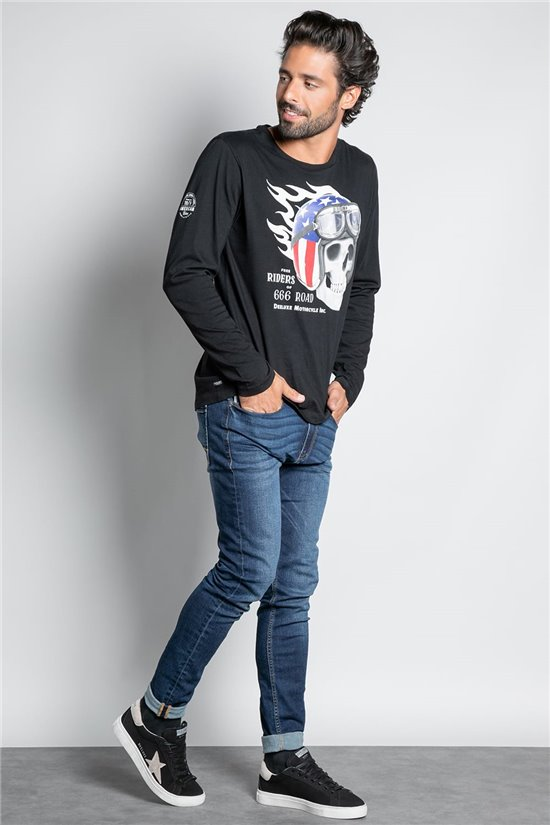 T-Shirt T-SHIRT INSANITY Homme W20159M (57917) - DEELUXE
