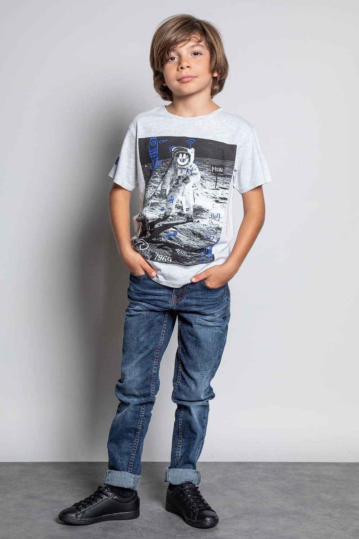 T-Shirt T-SHIRT INVADER Garçon W20157B (58080) - DEELUXE