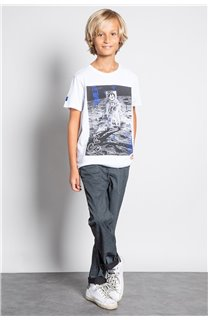T-Shirt T-SHIRT INVADER Garçon W20157B (58086) - DEELUXE